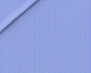 Lino Micro Rigato Azzurro