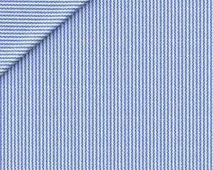 Popeline Micro Riga Blu Scuro