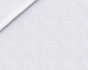 Cotone Piquet Bianco Diagonale