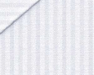 Oxford Pinpoint Rigato Bianco