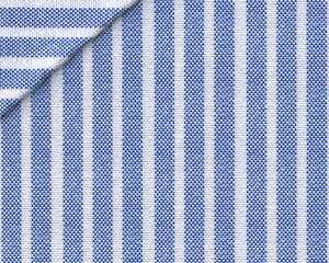 Oxford Rigato Blu Reale