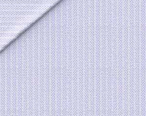 Twill Spinato Millerighe Bianco